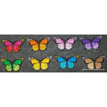 Termoadhesivo, mariposa 7,7...