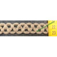 Pasamanería tipo trencilla - lana ( cajón 16)