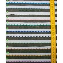 Festón de colores 12 mm