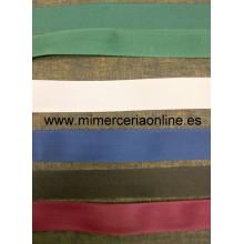 Cinturilla de colores 25 mm