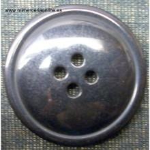 Botón de color negro 22mm