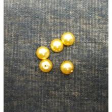 Bola tipo perla, amarillo...