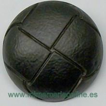 Botón negro, con efecto...