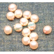 Bola tipo perla, 4 mm, salmón