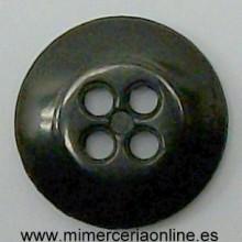 Botón de color negro con 4...