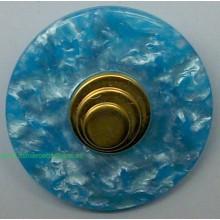 Botón azul claro con...