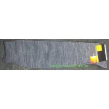 Media gorda tipo calcetín térmico hasta la rodilla, marca POCHOLO, negra o gris