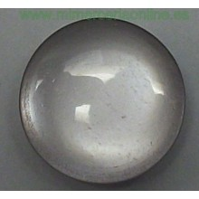 Botón azul casi gris, 13 mm