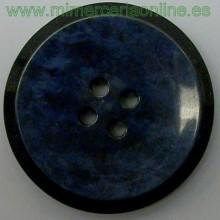 Botón azul marino y negro...