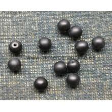 Bola negra mate, 4 mm