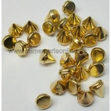 Pincho de color plata u oro