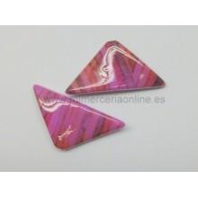 Abalorio forma triangular,...
