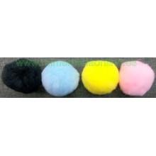 Pompón de colores, 5 cm