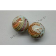 Bola multicolor, 16 mm