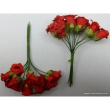 Ramillete de flores rojas