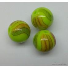Bola, color verde, 10 mm
