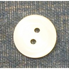 Botón blanco roto, 14 mm
