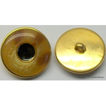 Botón tono marrón-beige,...