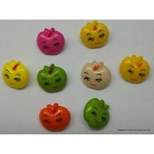 8 botones con forma de...