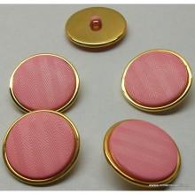 Botón de color rosa chicle,...