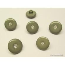 Botón gris con detalle de...