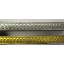 Pasamanería oro o plata, 15 mm