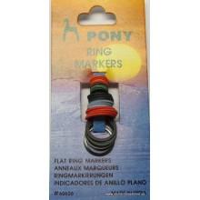 Indicador de anillo plano Pony