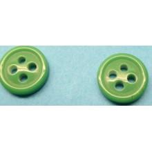 Botón verde, de 4 agujeros,...