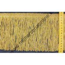 Fleco cuquillo dorado 10 cm