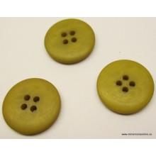 Botón verde amarillento, 4...