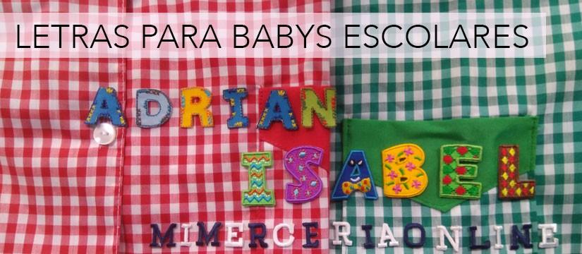 letras para babys