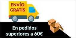Envio gratis para pedidos superiores a 60 euros